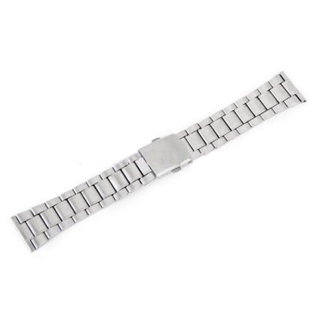 Men's Stainless Steel Solid Links Watch Band Strap Bracelet Fashion 18 20 Dzco