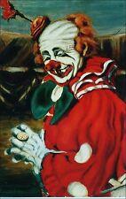Circus Artist Ray Wolf: Clown Felix Adler. Felix in Red. 1952.
