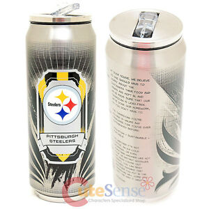 New Pittsburgh Steelers Thermo Can Travel Tumbler
