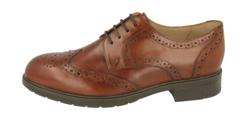 Extra Formal Wide Shoes Men's Db's Fit Brogue ealing Tan Lace Up In 2v 5XROwqFBO