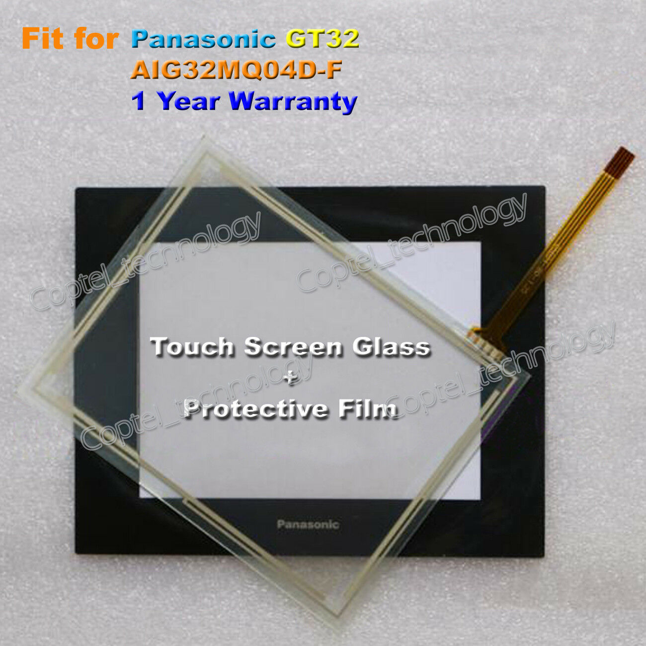 For Panasonic GT32 AIG32MQ04D Touch Screen Glass + Film 1 Year Warranty