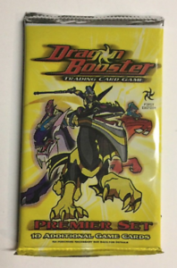 2005 Dragon Booster First Edition Booster Pack 10 Cards New!