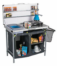 Kampa Chieftain Field Kitchen / Camping / Stove Stand / Storage / Worktop