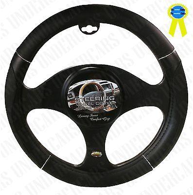 New Black Luxury Car Steering Wheel Cover