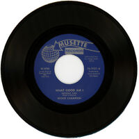"""MICKIE CHAMPION  """"WHAT GOOD AM (WITHOUT YOU)"""" R&B / NORTHERN SOUL  LISTEN!"""