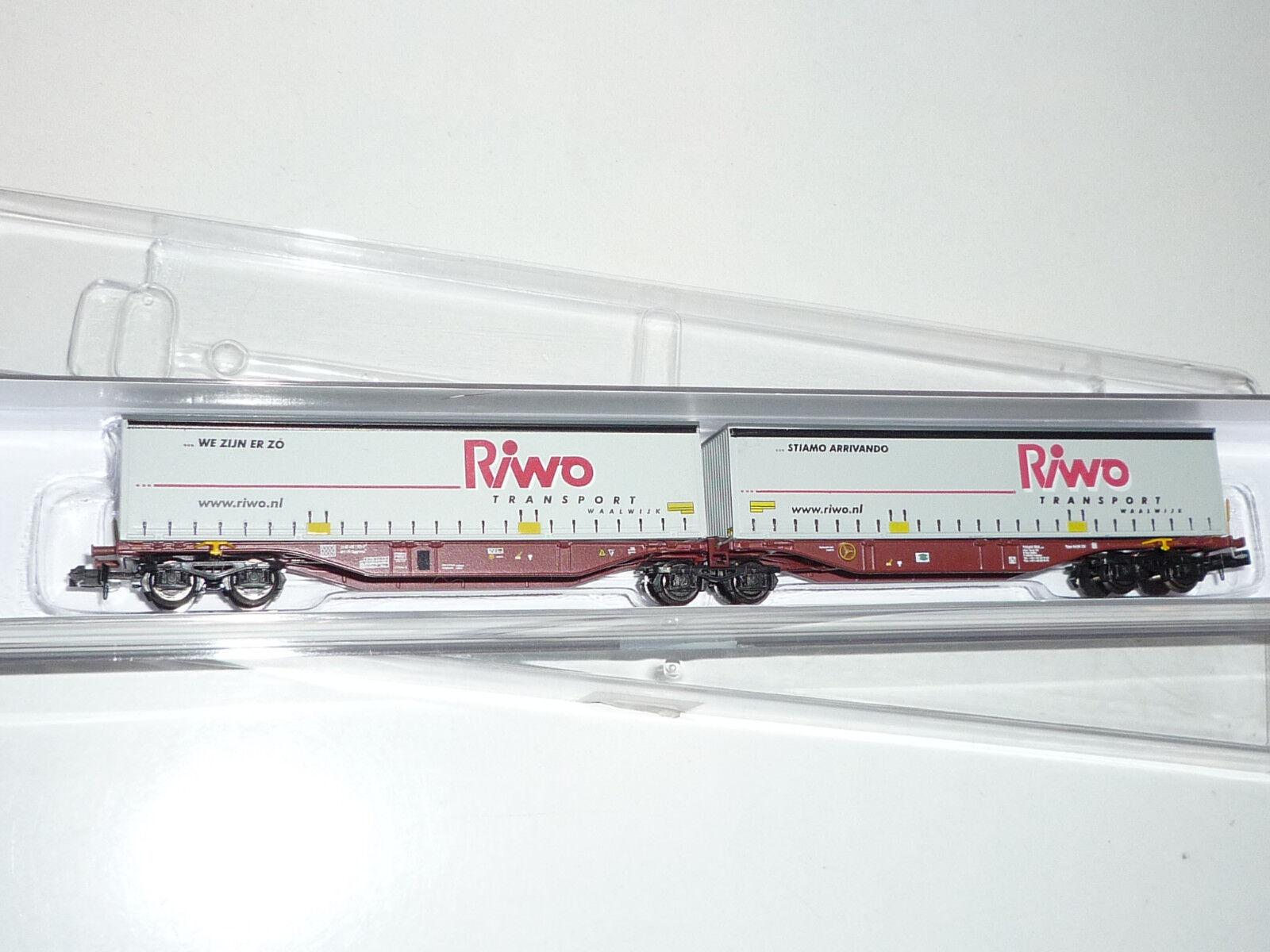 Rocky-rail N-rr60120 contenedor armazón Cochero Riwo Transport-OVP. nuevo x351x
