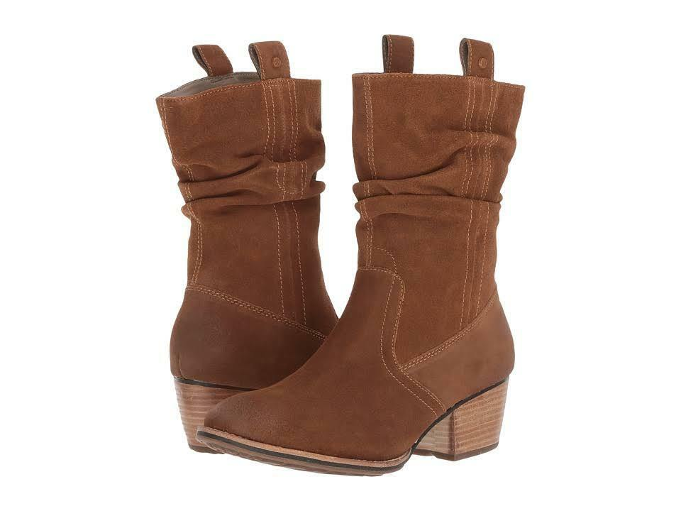CATERPILLAR P309974 INCENSE Wmn's (M) Brown Suede Mid-Calf Boots