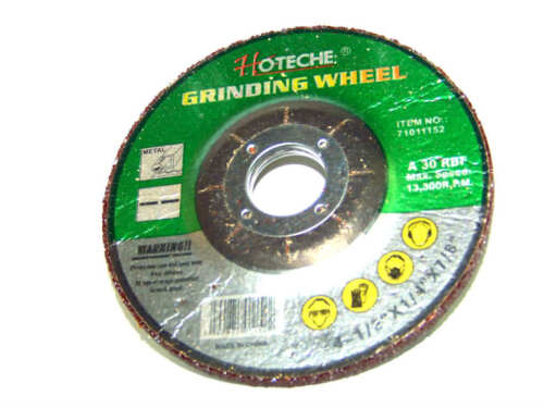 "HOTECHE 100 PC 4-1//2/"" X 1//4/"" X 7//8/"" METAL GRINDING WHEEL 4 ELECTRIC  GRINDER"