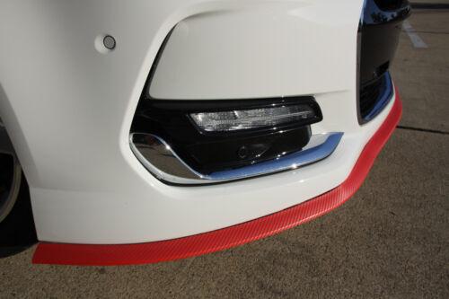 Holden Commodore Carbon Fiber Front Rear Bumper Lip Side Skirt red black or blue