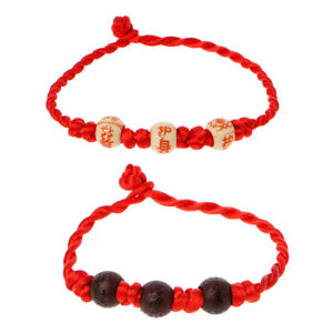 Image Is Loading Kabbalah Red String Braided Bracelet Protection For Good