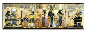 Agypten-Pharao-Olbilder-Gemaelde-Leinwand-Olbild-Bild-Bilder-Keilrahmen-16583