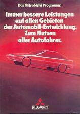 Mitsubishi Prospekt 9/82 Starion Sapporo Galant Tredia brochure 1982 Auto PKWs