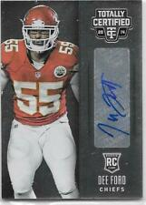 Dee Ford 2014 Totally Certified Rookie Autograph  NrMt #128