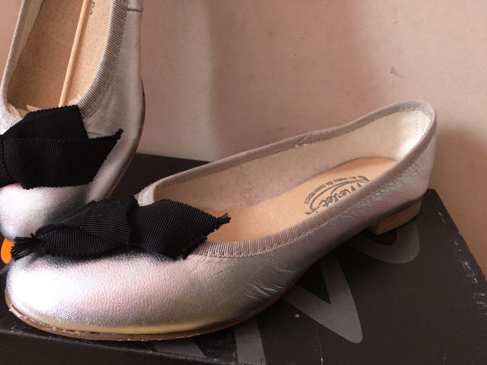 Ballerines Merlet Et Noir Et Merlet Argent T. 36 49014e