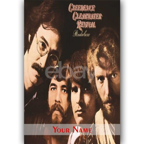 Creedence Clearwater Revival Custom Personalized Silk Poster Wall Decor