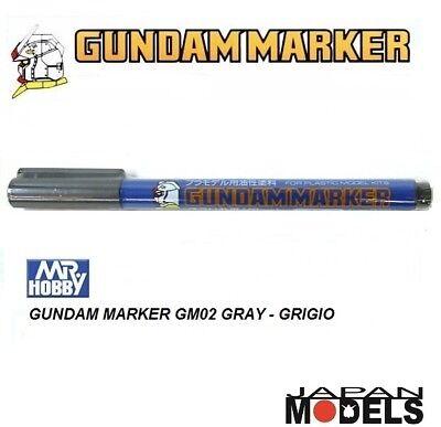 Mr.Hobby GM05 Gundam Marker Pennarello Metallic Silver modellismo