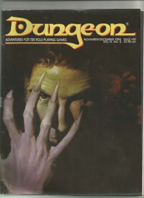 Dungeon - Adventures for TSR Role-Playing Games No. 50 from 1994