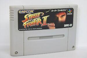 STREET-FIGHTER-II-2-Super-Famicom-Nintendo-Free-Shipping-sfc