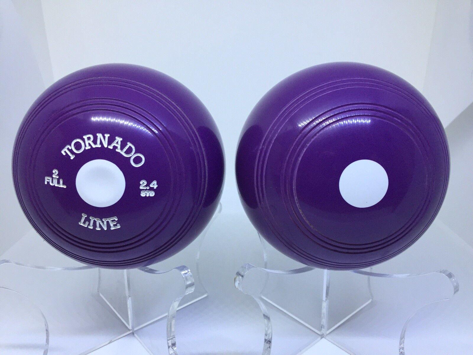 Tornado Line Crown Grün Bowls Lilac