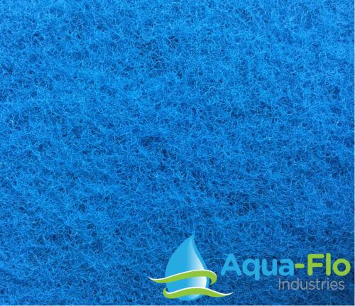 "Allows Maximum Flow Rate! 6 Feet 1/"" Aqua-Flo Rigid Pond Filter Media 10/"" x 72/"""
