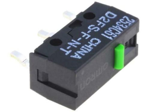 4x d2fs-f-n-t microinterruptor snap Action sin palanca Spst-no 0,1a/6vdc ip40 omron