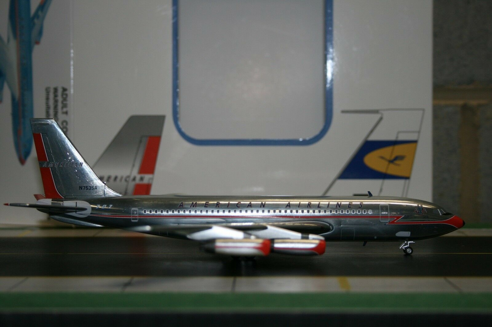 Modelo occidental 1 200 American Airlines Boeing 720-023 N7535A (ACN7535A)