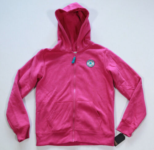 Neu All Star Converse Mädchen Girls Sport Hoodie Kapuzen Sweater Jacke pink
