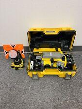 Trimble Ts215 5 Mechanical Total Station Set Withcase Batteries Amp Prism Nikon