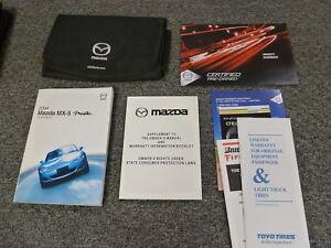 2004 mazda mx 5 miata convertible owner owner s manual user guide rh ebay com 2004 Mazda Mazdaspeed Miata 2009 Mazda Miata