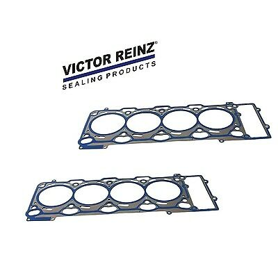 For BMW E60 E63 Set of 2 Head Gaskets 0.75mm Left+Right Victor Reinz 11127513944