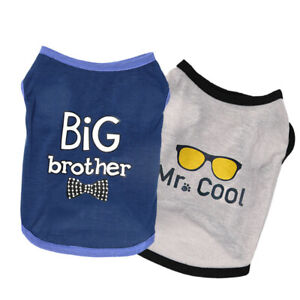 Cute-Pet-Dog-Clothes-Summer-Letter-Printed-Cotton-Vest-T-shirts-Small-Cat-Puppy