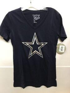 89490e5f1 NFL Dallas Cowboys Women s Navy Dak Prescott  4 Ruby T-Shirt