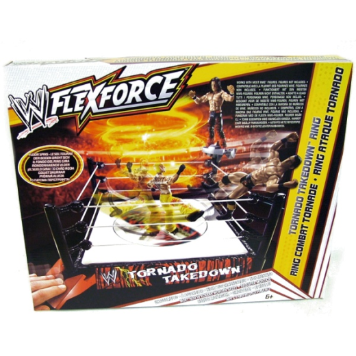 WWE Flex Force Tornado Takedown Wrestling Ring Factory Sealed 2011