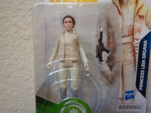"Star Wars PRINCESS LEIA HOTH GEAR Figure 3.75/"" Solo Movie Card FORCE LINK 2.0"