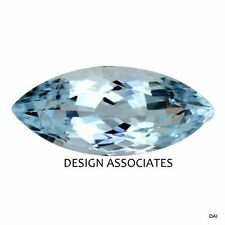 AQUAMARINE 8X4 MM MARQUISE CUT OUTSTANDING BLUE COLOR ALL NATURAL