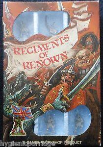 1985 Rr4 Mengil Manhides Régiments De Elfes Noirs De Manflayers Renommés Rr11 Drow Mib
