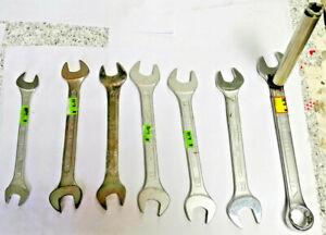 Stock-7-Chiavi-inglesi-USATE-BETA-USAG-UNIOR-HAZET-varie-misure-VEDI-OFFERTA