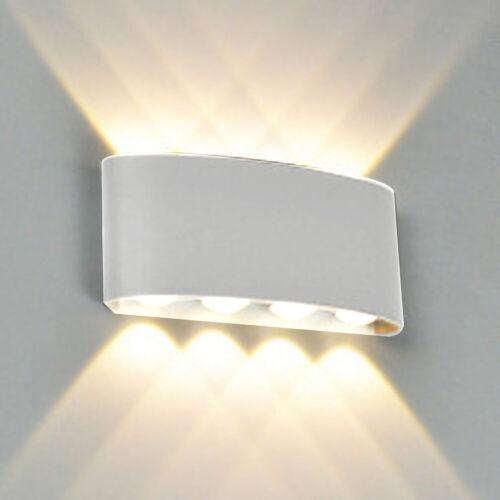 Aluminum Wall Sconce LED Wall Lamp Garden Corridor Balcony Up Down Lights 3000K