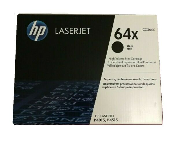 Original Toner HP Laserjet P4015 P4015N X TN P4015TN P4515N P4515X/CC364X 64X