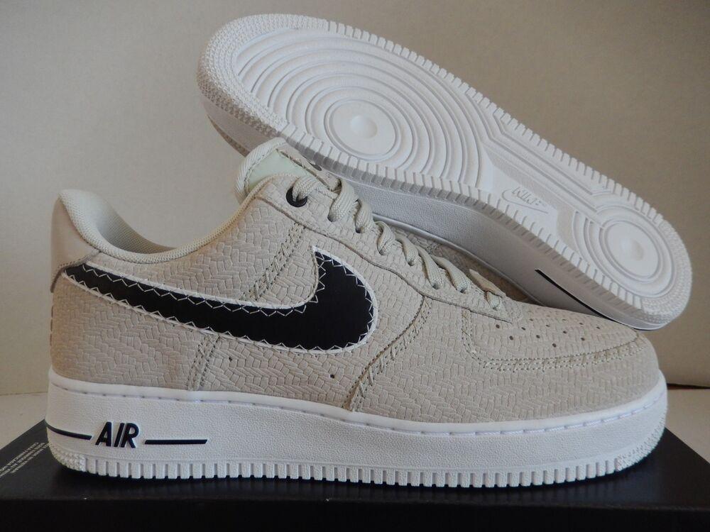 NIKE AIR FORCE 1 07 N7 LIGHT BONE-Noir-Blanc de Homme  Chaussures de BONE-Noir-Blanc sport pour hommes et femmes 020ab4