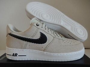 finest selection 8cad2 2830c NIKE AIR FORCE 1 07 N7 LIGHT BONE-BLACK-WHITE SZ 10.5 [AO2369-001 ...