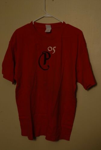 2005 PIXIES special Concert tour T Shirt Red XL