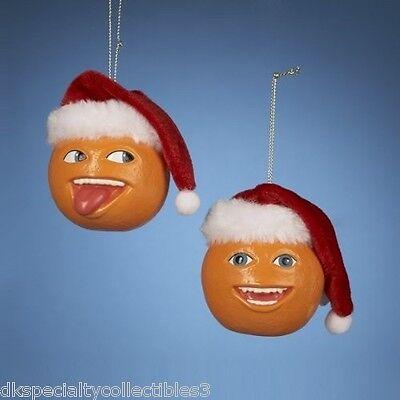 Annoying Orange Ornament Set