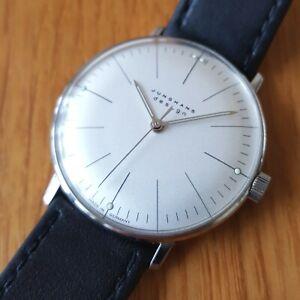 Junghans-Max-Bill-handwinding-mens-watch-27-3700-box-amp-papers
