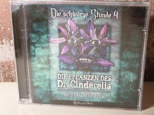 DIE-SCHWARZE-STUNDE-4-Die-Pflanzen-des-Dr-Cinderella-CD-Hoerspiel-MEYRINK