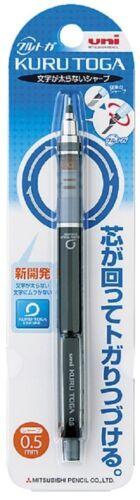 Mitsubishi Kuru Toga 0.5mm Sharp Roulette Model M54501P.24 Black from Japan