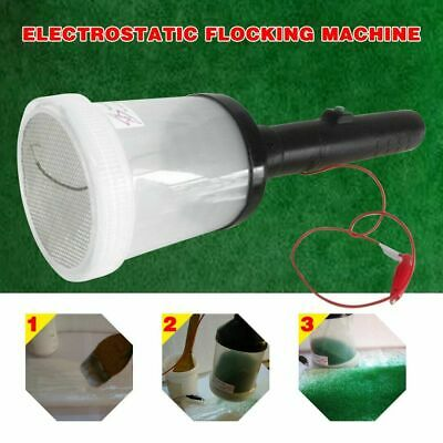 Portable Flocking Machine Static Grass Applicator Scenic Modelling Grass Master