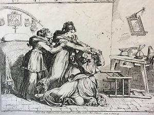 Bartolomeo-PINELLI-1781-1835-d-039-apres-Giuseppe-Berneri-estampe-Italie-XIXe-h