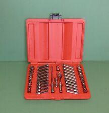 Snap On Tools 44 Piece 14 Drive General Service Socket Set Metric Sae 144tmpb