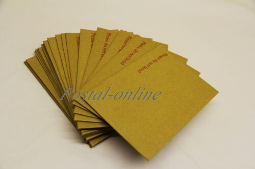 500 C6 A6 HARD CARD BOARD BACK BACKED DO NOT BEND ENVELOPES BROWN 162x114 brown